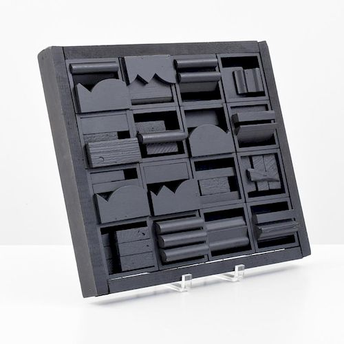 Louise Nevelson Sculpture, Original Work