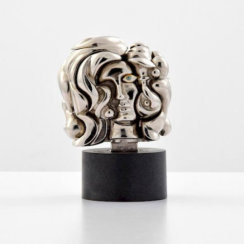 Miguel Berrocal MINI PORTRAIT DE MICHELLE Sculpture