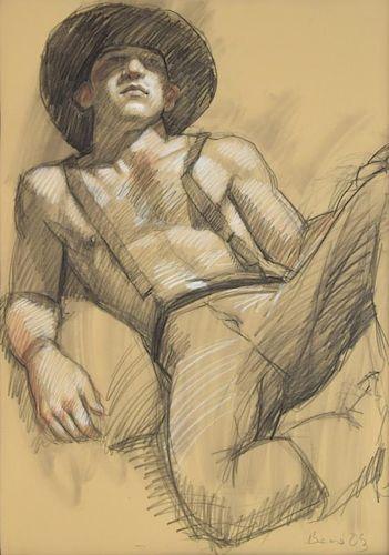 Mark Beard Drawing, Original Work
