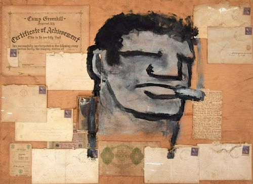 Robert Loughlin Mixed Media Work