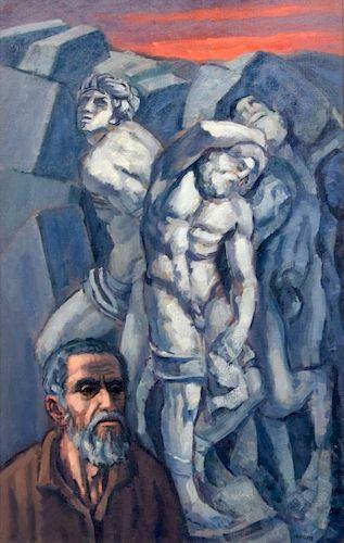 Martin Mondrus Painting, Original Work