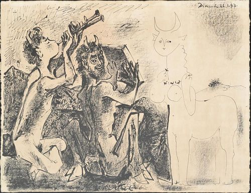 Pablo Picasso Lithograph, Signed Edition