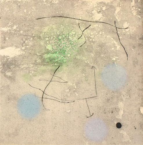Joan Miro Aquatint/Etching, Signed Edition