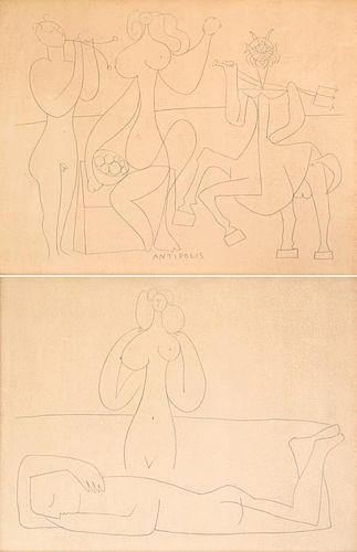 Pair of Pablo Picasso Prints