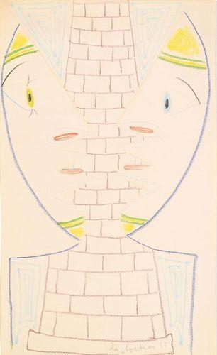 Jean Cocteau Drawing, Original Work