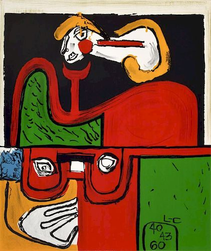Charles-Edouard Jeanneret (Le Corbusier) Lithograph