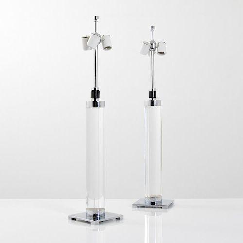 Pair of Hansen Lamps