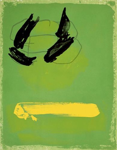 Adja Yunkers Lithograph, Signed Edition