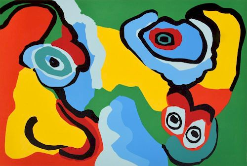 Karel Appel Lithograph, Signed Edition