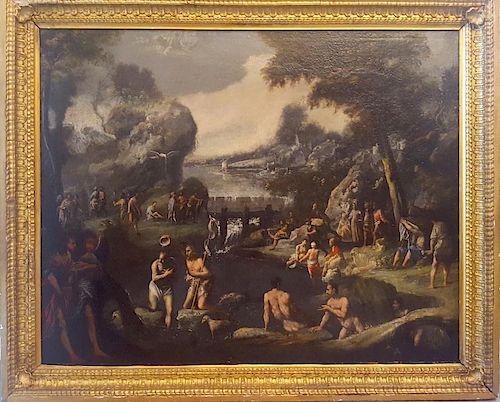 Italian Old Master LARGE Giovanni Andrea Donducci (1575–1655), attr.