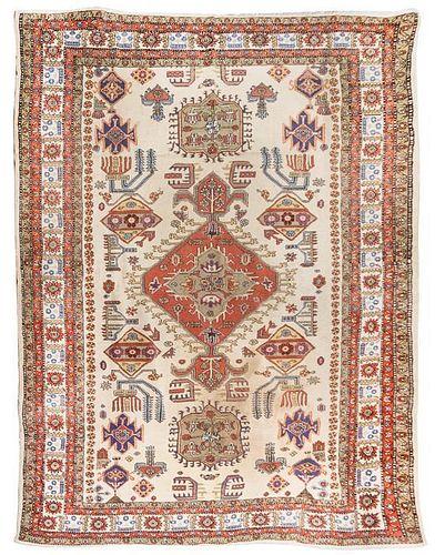 * A Serapi Style Wool Rug 10 feet 4 inches x 7 feet 9 inches.