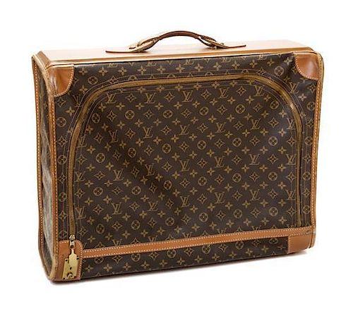 """A Louis Vuitton Monogram Canvas Pullman 60 Suitcase, 23.75"""" x 18.25"""" x 7.5""""; Handle drop: 2""""."""