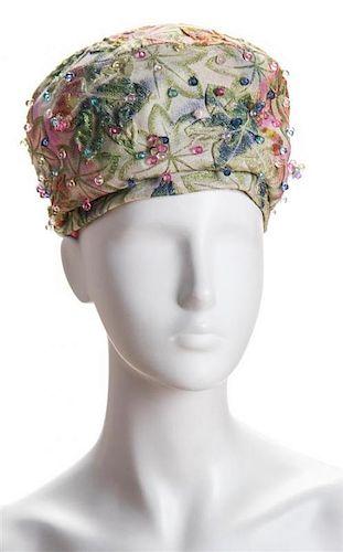 881f5d8b151 A Christian Dior 1960 s Turban Hat