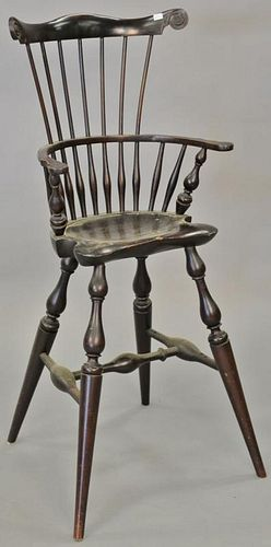 Wallace Nutting Windsor style youth chair. ht. 38 in.