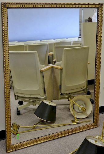"Gold framed mirror, 41"" x 53"".   Provenance: The Estate of Thomas F Hodgman of Fairfield, Connecticut"
