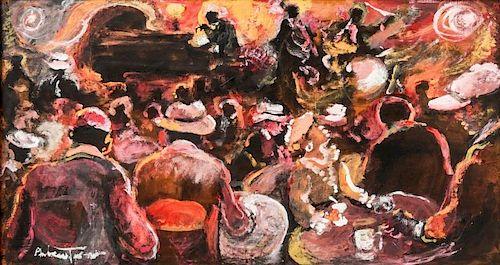 Andrew Turner (American, 1944-2001) Jazz Club