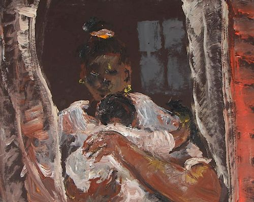 Andrew Turner (1944-2001) Mother and Child