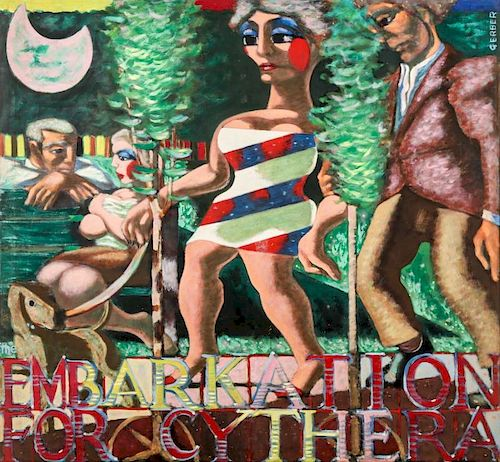 "Jack Gerber (b. 1927) ""Embaration For Cythera"""
