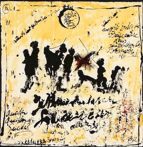 """Gilles Rieu (b. 1953) """"Why II"""""""
