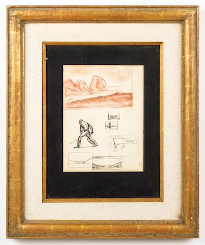 Rockwell Kent (1882-1971) Study Sketches