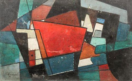 E. Oscar Thalinger (1885-1965) Oil Painting