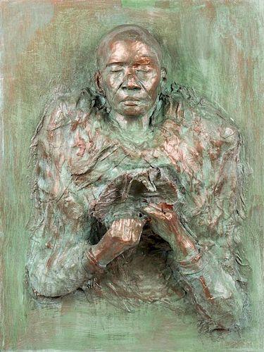 Gina Gruenberg (American, 20th c.) Mixed Media Sculpture