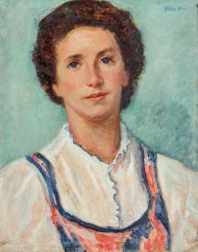 Julius Bloch (1888-1966) Painting