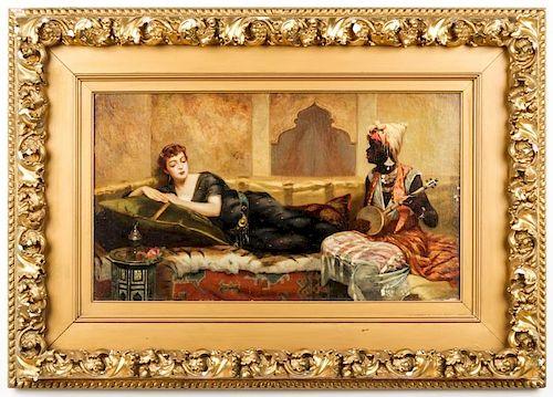 Vincent G. Stiepevich (1841-1910) Orientalist Painting