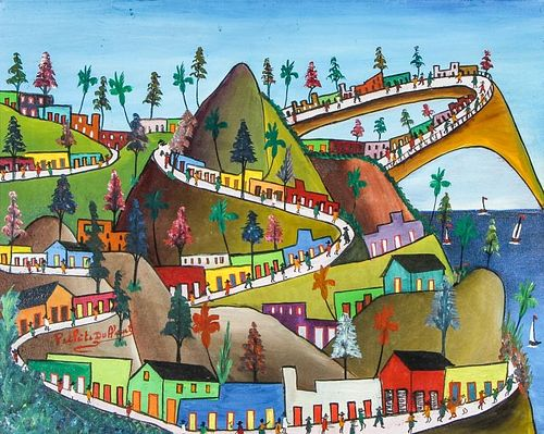 Prefete Duffaut (1923-2012) Landscape