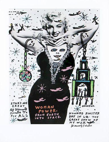 "Howard Finster (1916-2001) ""Woman Power"""