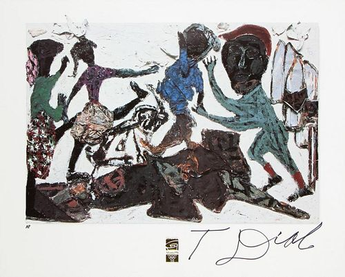 Thornton Dial (1928-2016) Limited Edition Signed Poster