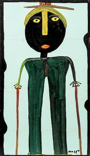 Mose Tolliver (1925-2006) Self Portrait