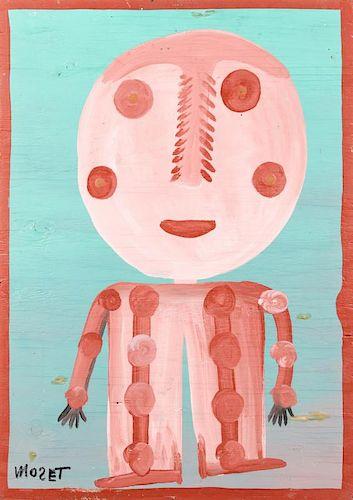 Mose Tolliver (1925-2006) Dry Bones Charlie