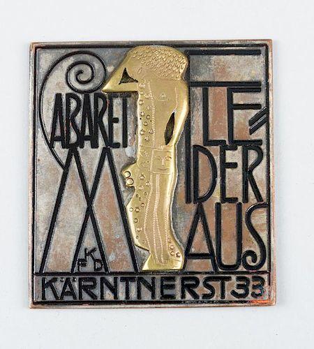 Wiener-Werkstätte- Cabaret Fledermaus
