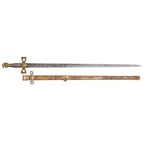 Model 1840 Ames Militia Officers Sword