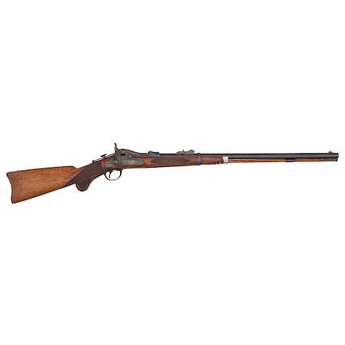 US M1875 Springfield Trapdoor Third Model Officer's Rifle
