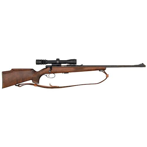 * Savage Anschutz Bolt-Action Rifle with Scope