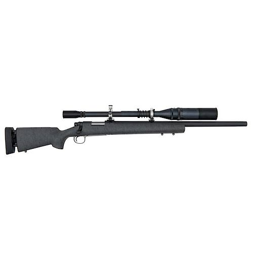 * Remington 40-X Bolt Action Rifle with J. Unertl Scope