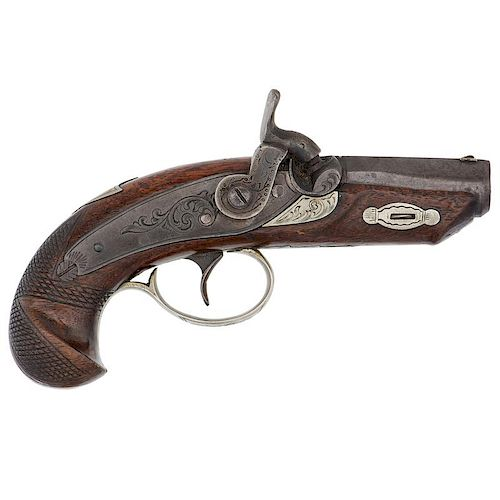 Deluxe Percussion Derringer Attributed to R.P. Buff