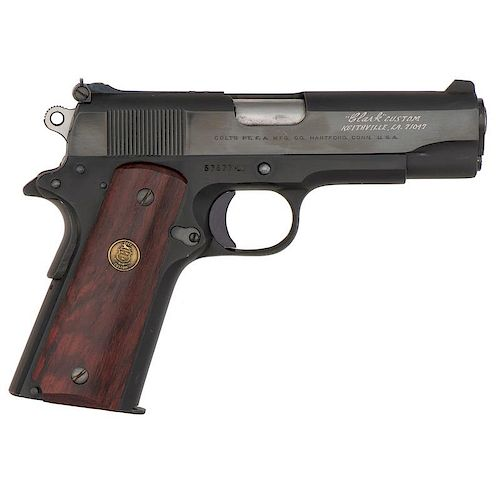 * Colt 38 Super LW Commander, Customized by Clark