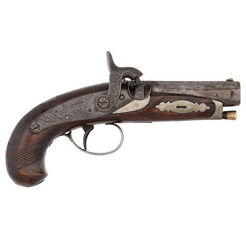 Hyde & Goodrich New Orleans Agent Marked Deringer Pistol