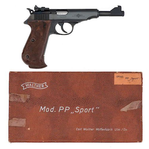 ** Walther PP Sport In Original Box