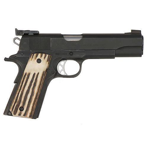 * Colt 1911 Semi-Automatic Pistol with Bo-Mar Rear Sight