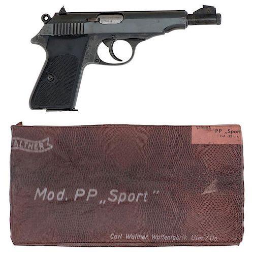 * Walther Model PP Sport Pistol in Box