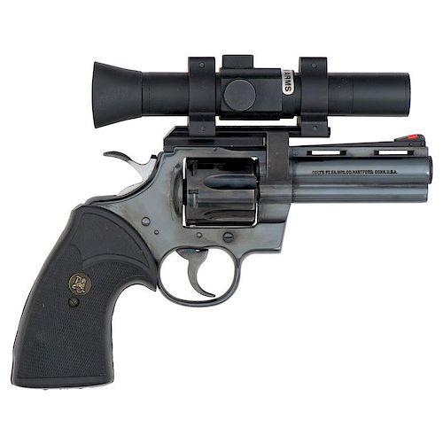 * Colt Python Revolver With Ultra Dot Scope