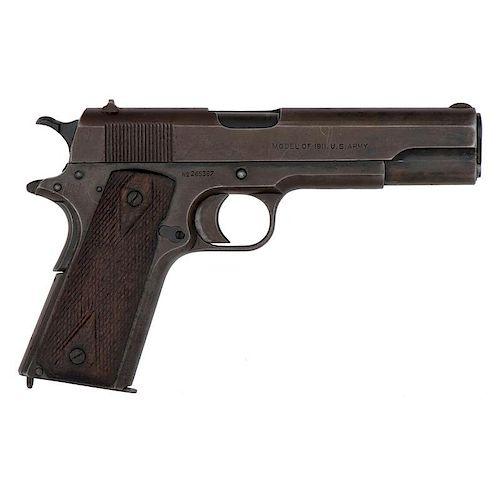 ** U.S. Colt M1911 Semi-Automatic Pistol w/ Holster