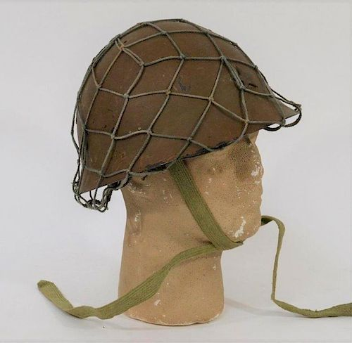 WWII Japanese Army Type 90 / M30-32 Combat Helmet by Bruneau & Co