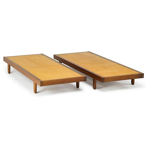 GEORGE NAKASHIMA Pair of daybeds