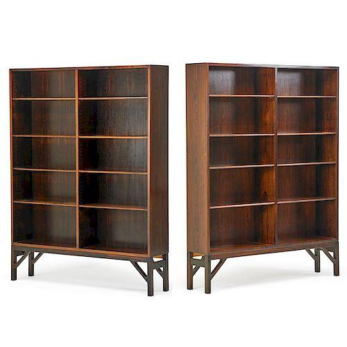 BORGE MOGENSEN Pair of bookcases
