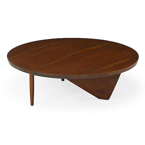 GEORGE NAKASHIMA Round coffee table
